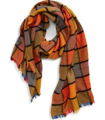 women's madewell emmy plaid scarf