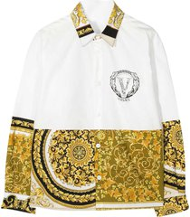 young versace white shirt