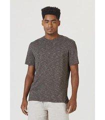 camiseta regular manga curta masculina - masculino