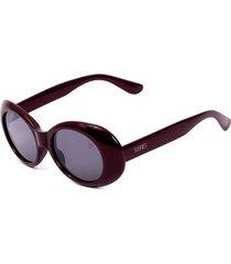 óculos de sol sunnies oval marsala