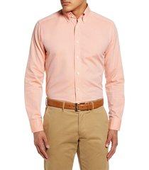 men's eton soft casual line slim fit oxford shirt