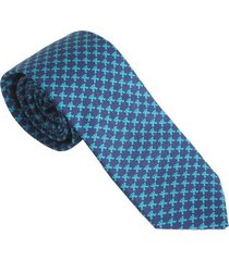 corbata hombre jaguar azul