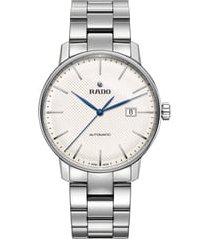 men's rado coupole classic automatic bracelet watch, 41mm