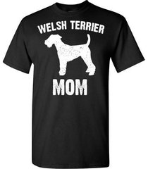 welsh terrier mom t shirt