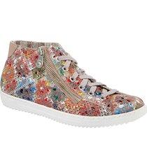 skor rieker flerfärgad