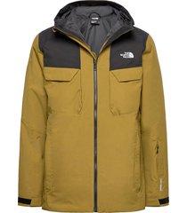 m fourbarrel tri jkt outerwear sport jackets grön the north face