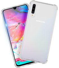 case-mate protection pack tough clear case plus glass screen protector for samsung galaxy a70