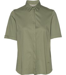 marta jersey shirt ss blouses short-sleeved grön mos mosh