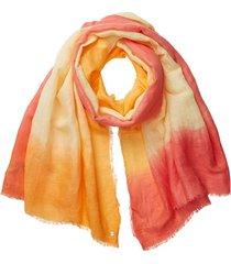 pañuelo en lino y lenzing ecovero amarillo esprit