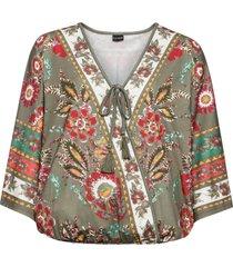 maglia in stile kimono (verde) - bodyflirt