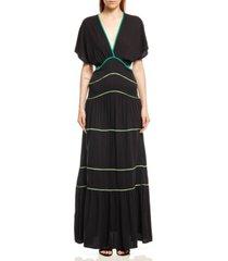 women's long pleated dress