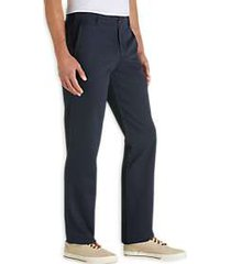 joseph abboud navy modern fit essential chino