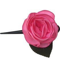 bico de pato fuxicos & frescuras rosa colombiana rosa chiclete - tricae