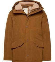 jackets outdoor woven parka jacka brun esprit casual