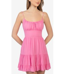 b darlin juniors' emma tiered dress
