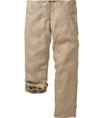 pantaloni in lino regolabili regular fit (beige) - bpc selection