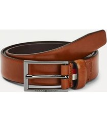 tommy hilfiger men's leather belt cognac - 42