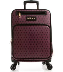 """dkny signature gems 21"""" spinner suitcase"""