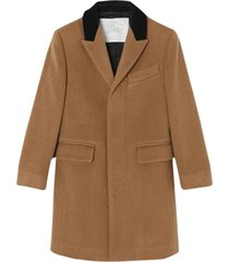 burberry tailored coat in cashmere
