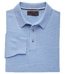 reserve collection tailored fit men's polo sweater clearance