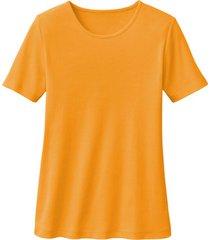 biokatoenen shirt met ronde hals, mango 40/42