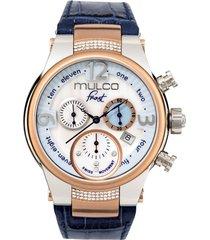 reloj frost lady azul mulco
