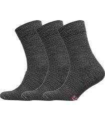 merino wool light hiking socks 3 pack underwear socks regular socks grå danish endurance