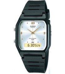 reloj casio aw48he-7avdf negro resina