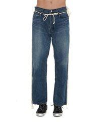 ambush side tape jeans