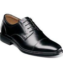zapato forecast cap toe oxford negro florsheim