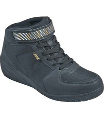 botin wedge aeroflex negro mf8923