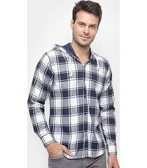 camisa watkins&krown masculino xadrez flanela masculina