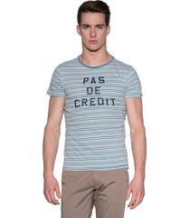 scotch & soda t-shirt met korte mouwen licht blauw