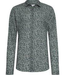 camisa masculina rose bush - verde