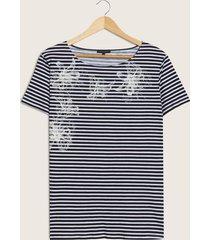 camiseta manga corta estampado-s