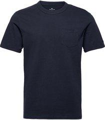 basic t-shir t-shirts short-sleeved blå tom tailor
