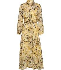 reemaiw dress maxi dress galajurk geel inwear