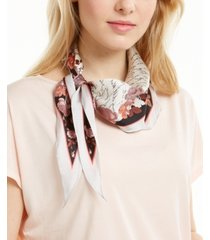 vince camuto boxed love letter scarf with key chain