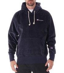 corduroy hoodie sweatshirt - navy 213691-nny