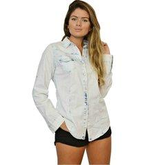 camisa nalu rio feminina