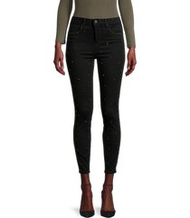 l'agence women's capitola high-rise skinny jeans - noir - size 26 (2-4)