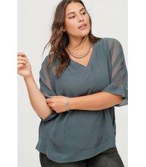 blus mdjess 3/4 blouse