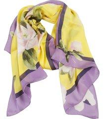 valentino garavani floral printed scarf