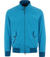 baracuta g9 classic harrington jacket - ocean brcps0001bcny1350