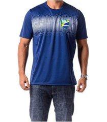 camiseta braziline manga curta brasil pindarí adul