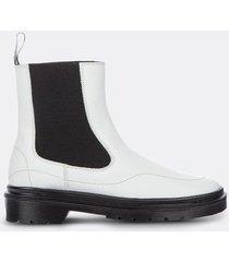 botas unicolor elástico para mujer freedom 01823
