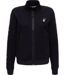 off-white athlerisure arrow track jacket
