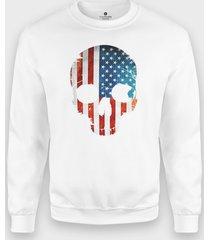bluza amerykańska czaszka