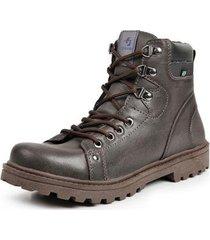 bota coturno casual top franca shoes masculino