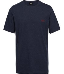 mix&match t-shirt r t-shirts short-sleeved blå boss
